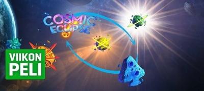 Cosmic Eclipse -uutuspeli nyt myös NordicBetillä - Kokeile heti Viikon Pelin spinneillä!