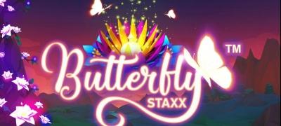 Nappaa spinnejä NetEntin Butterfly Staxx -slottiin!
