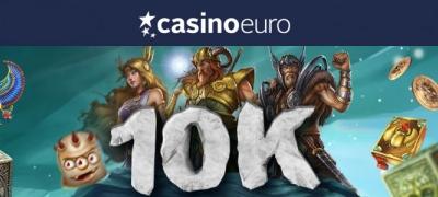 Casinoeurolla jaossa 10 000 ilmaiskieppiä – Suorita haasteet ja voita!