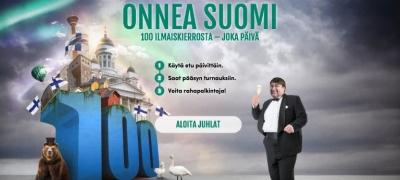 Satoja ilmaiskierroksia Casinohuoneelta ja Fastbetiltä – Onnea satavuotias Suomi!