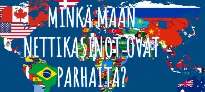 Minkä maan nettikasinoilla suomalaisten kannattaa pelata?