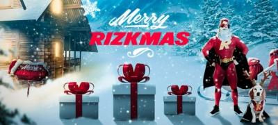 Merry Rizkmas – Rizkillä jaossa päivittäin ilmaiskierroksia ja muita herkkuja!