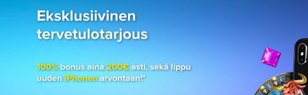 Tutustu CasinoEuroon uuden ja eksklusiivisen huipputarjouksemme avulla!