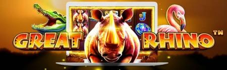 Pelasta uhanalaiset sarvikuonot ja nappaa ilmaisrundit talteen Twin Casinolla!