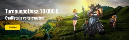 iGamen turnauksessa jaossa 10 000 euroa ja ilmaiskierroksia!
