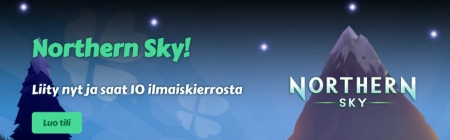 MyChancen uusi tervetuliaistarjous – Lunasta ilmaiskieppejä Northern Sky -uutuuspeliin!