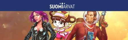 Pelaa uutuuspelejä Suomiarvat casinolla ja lunasta jopa 100 ilmaista spinniä suosikkipeleihin!