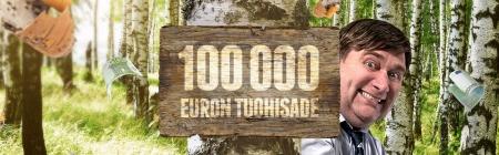 Ota haltuun Casinohuoneen 80 ilmaiskierrosta ja 100 000 euron turnaus!