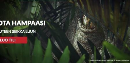 Lunasta spinnejä monelta eri kasinolta Jurassic World -kamppiksessa!