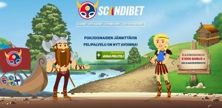 Nappaa huikeita superkierroksia ScandiBetin nettikasinolta!