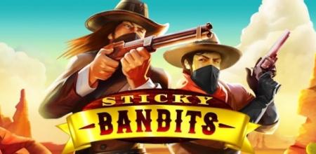 Nappaa spinnejä uuteen Sticky Bandits -kolikkopeliin!